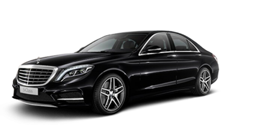 Be driven in ultimate Luxury in the Mercedes S Class whether its for special events, meetings, or airpots. The Mercedes S-Class accomodates up to 3 passengers and 4 suitcases.