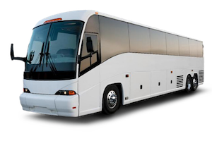 When you are having a large corporate event or party and need to arrange safe company travel for everyone, a Motorcoach is perfect. The full size Motorcoach accomodates up to 55 passengers and 40 suitcases